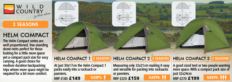 Wild Country Helm Tents