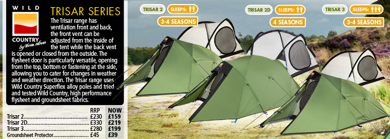 Wild Country Trisar Series