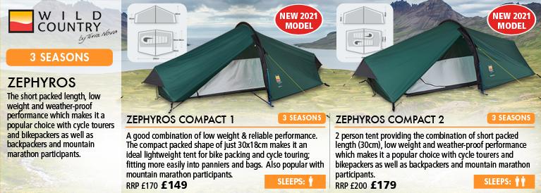 Wild Country Zephyros Series