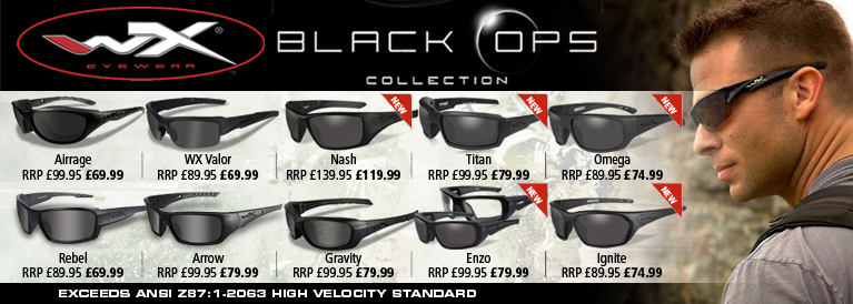 WIley-x Black Ops Sunglasses