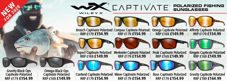 Wiley X Captivate Polarized Fishing Sunglasses