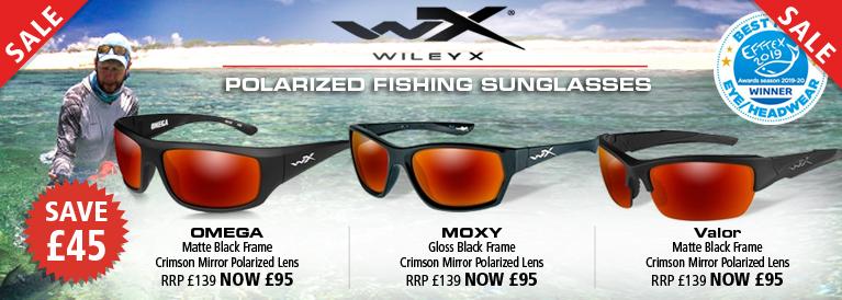 Wiley X Polarized Fishing Sunglasses