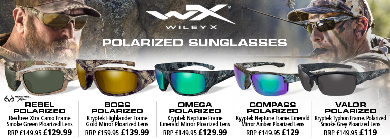 Wiley X Rebel and Valor Realtree Xtra Sunglasses