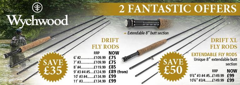 Wychwood Drift Fly Rods Offer
