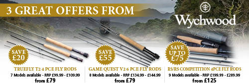 Wychwood Truefly, Game Quest and RS/RS Competition Fly Rods