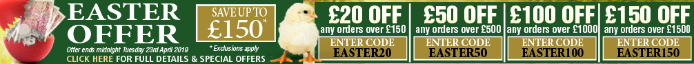 Easter Bank Holiday Specials