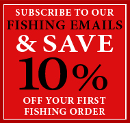 Subscribe To Our Fishing Emails