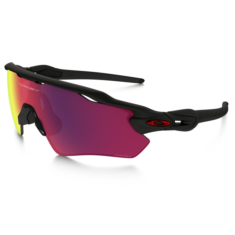 4a80ed266c Image of Oakley Radar EV Path PRIZM Road Sunglasses - Matte Black Frame PRIZM  Road