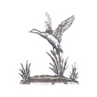 Image of A R Brown Duck Pewter Sculpture