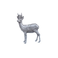Image of A R Brown Roebuck Pewter Pin Badge