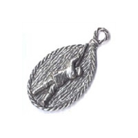 A R Brown Shooter Pewter Keyring