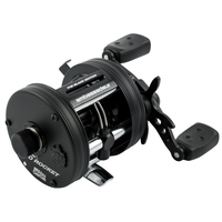 Abu Garcia Ambassadeur 6500 Pro Rocket Black Edition Reel - Left Hand Wind