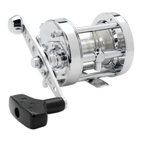 Abu Garcia Ambassadeur 6500 CS Chrome Rocket Multiplier Reel