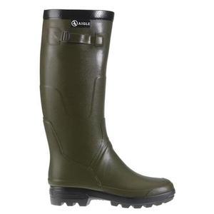 Image of Aigle Benyl M Wellington Boots (Unisex) - Kaki