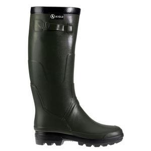 Image of Aigle Benyl M Wellington Boots (Unisex) - Bronze (Dark Green)