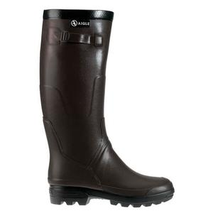 Image of Aigle Benyl M Wellington Boots (Unisex) - Brun (Dark Brown)