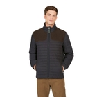 Image of Aigle Braisac Quilted Jacket - Navy