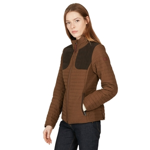 Image of Aigle Chauglet Lady Quilted Jacket (Women's) - Brown