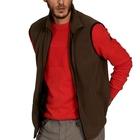 Image of Aigle Clerky Vest Thermo-Kit Fleece Gilet - Bronze