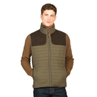 Image of Aigle Crochy Quilted Gilet - Bronze