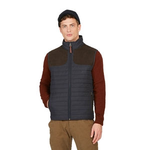 Image of Aigle Crochy Quilted Gilet - Navy