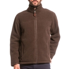 Image of Aigle Garrano Polartec Sheepskin Fleece Jacket - Mouton Marron Chine