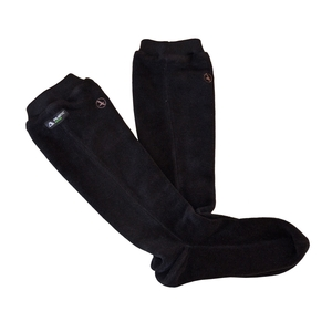 Image of Aigle Gotland Fleece Sock - Black