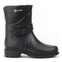 Aigle Macadames Mid Fur Rubber Boots (Women's)