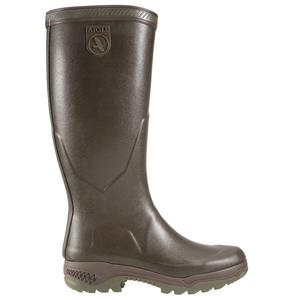Image of Aigle Parcours 2 Wellington Boots (Unisex) - Brun (Brown)