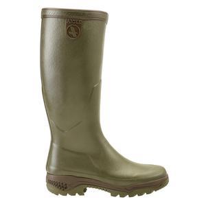 Image of Aigle Parcours 2 Wellington Boots (Unisex) - Kaki