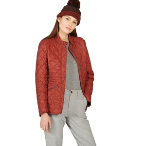 Image of Aigle Rubbyhunt Quilted Jacket (Women's) - Auburn
