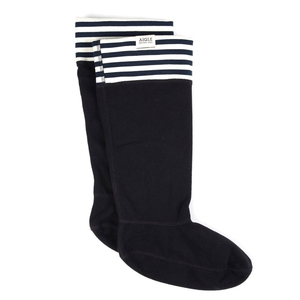 Image of Aigle Sockwarm Welly Socks - Midnight St