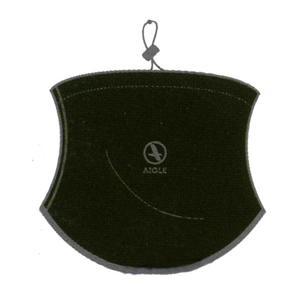 Image of Aigle Tube Fleece Neck Warmer - One Size - Bronze (Dark Green)