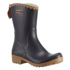 Image of Aigle Victorine Ankle Wellington Boots (Women's) - Marine / Miel