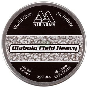 Image of Air Arms Diabolo Field PLUS HEAVY .22 (5.52) Pellets x 250
