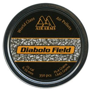 Image of Air Arms Field .25 (6.35) Pellets x 350
