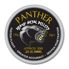 Image of AirForceOne Panther Heavy Metal .22 Pellets x 500
