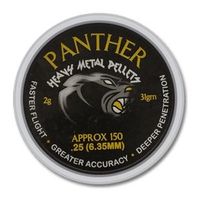 AirForceOne Panther Heavy Metal .25 Pellets x 150