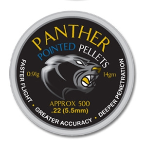 Image of AirForceOne Panther Pointed .22 Pellets x 500