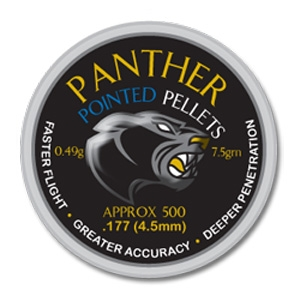 Image of AirForceOne Panther Pointed .177 Pellets x 500