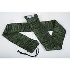 Image of AirForceOne SiliconeSox Treated Rifle Sock - Digital Moss Green