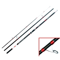Akios 3 Piece Hellrazor 420 SS Continental Rod - 4.2m 14ft 112-225g (4-8oz)