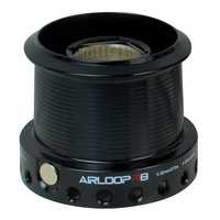 Akios Airloop R8 Shallow Aluminium Spool