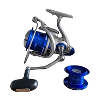 Akios GUV GX8 The Guvnor Reel c/w a Braid Spool and a Deep Spool