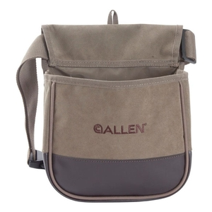 Image of Allen Select Canvas Double Compartment Shell Bag - Olive Green