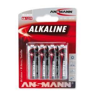 Image of Ansmann 4 x AA Size