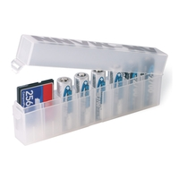 Ansmann 8 way Battery Storage Box