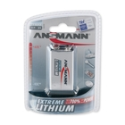 Image of Ansmann 9V Block - Extremme Lithium Non Rechargable Batteries