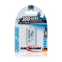 Ansmann 9V E-Block - 1 x 250 mAh - Max e NiHM Rechargeable Batteries
