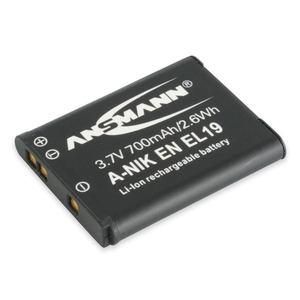 Image of Ansmann A-Nik EN EL 19 Rechargeable Li-Ion Battery